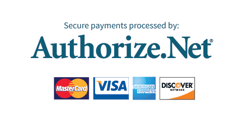 Secure Payment Processed by Authorize.net